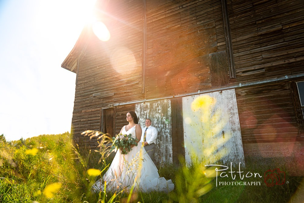 Calgary farm wedding