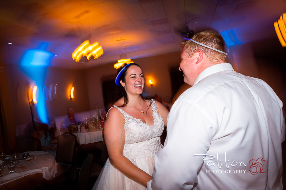 Wedding dance at Okotoks Best Western