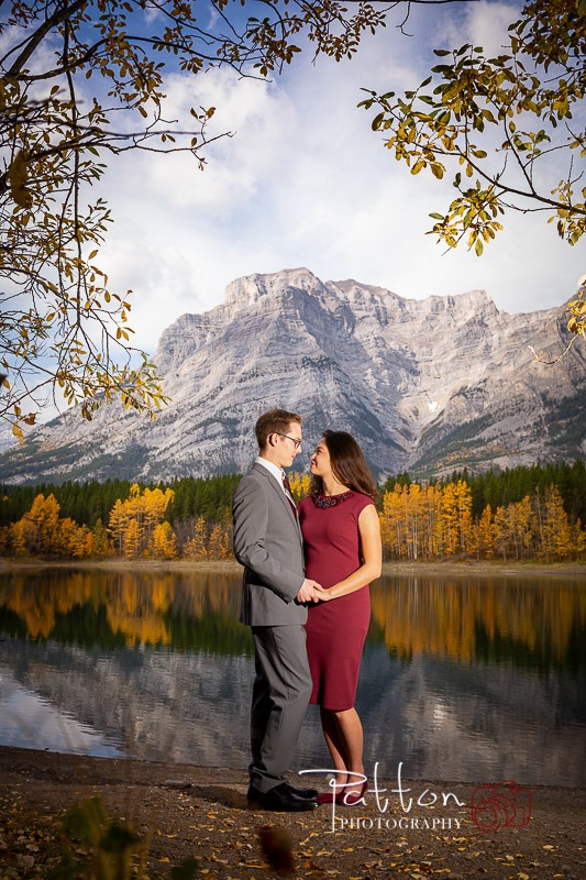 Calgary photography session in Kananaskis in the mountains