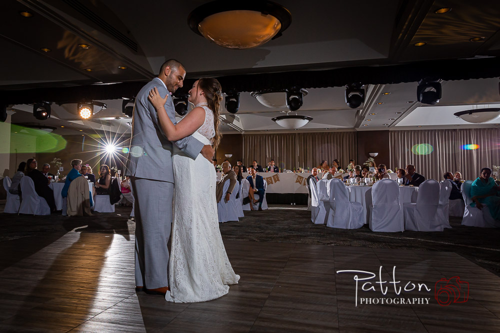 First Dance of a Calgary bride and groom