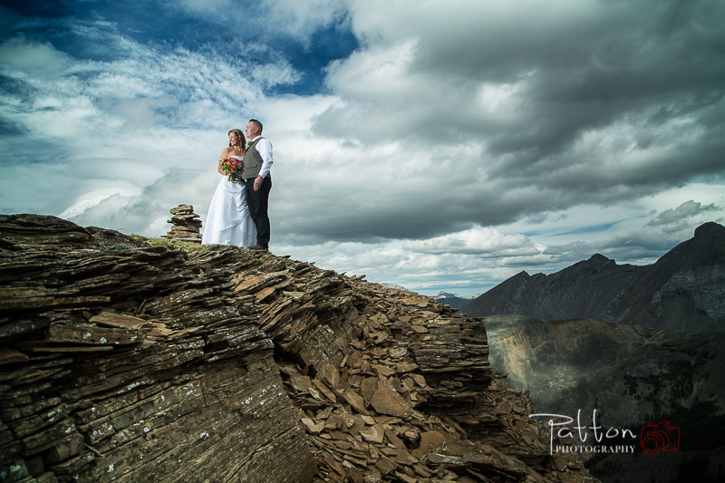 helicopter trip to Mountain destination wedding