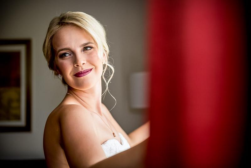 Calgary bride wedding portrait