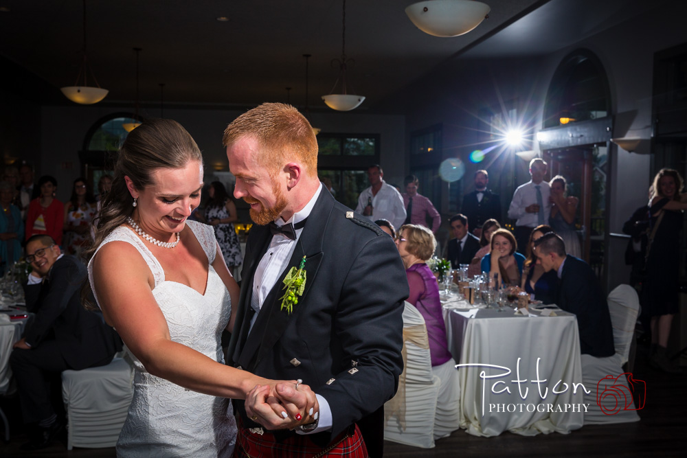 Australian Scottish Wedding Reception