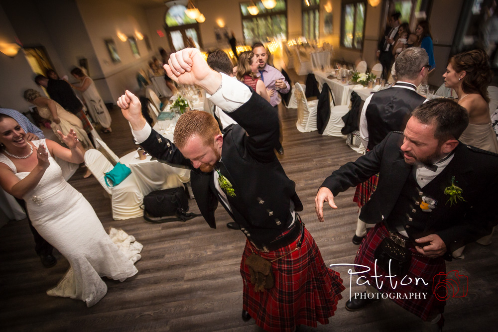Scottish Groom Partying
